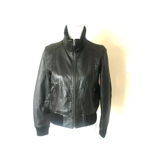 H&M L.O.G.G. Leather jacket.